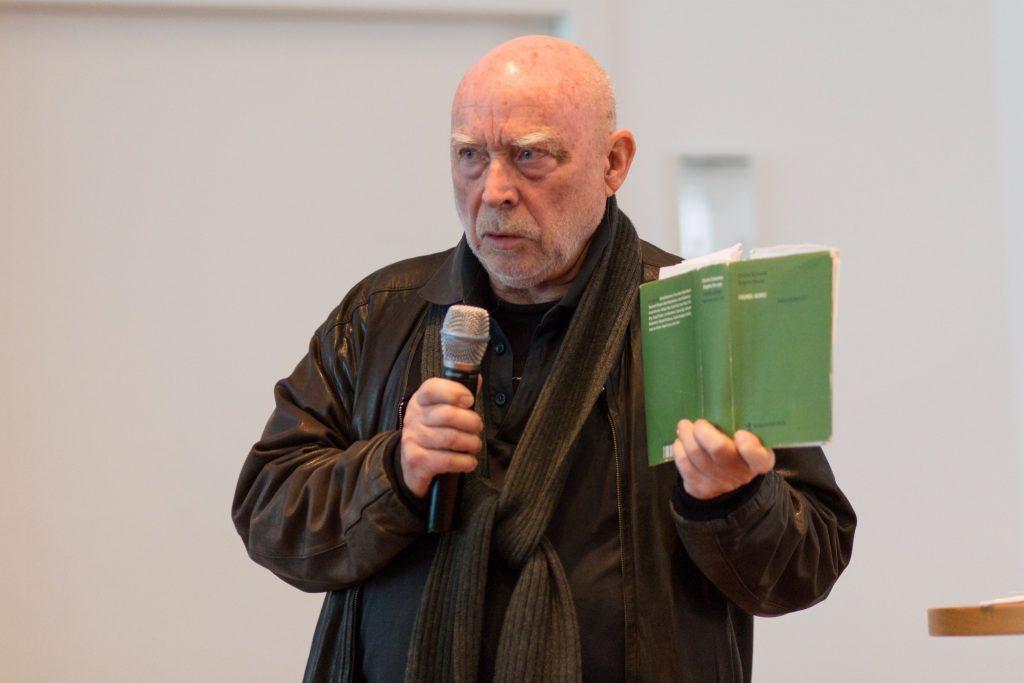FSE16, Ästhetik des Widerstands, Prof. Alfred Behrens