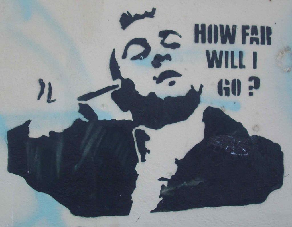 Travis Bickle: How far will I go?
